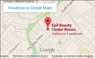 Mappa Epil Beauty Center Rimini